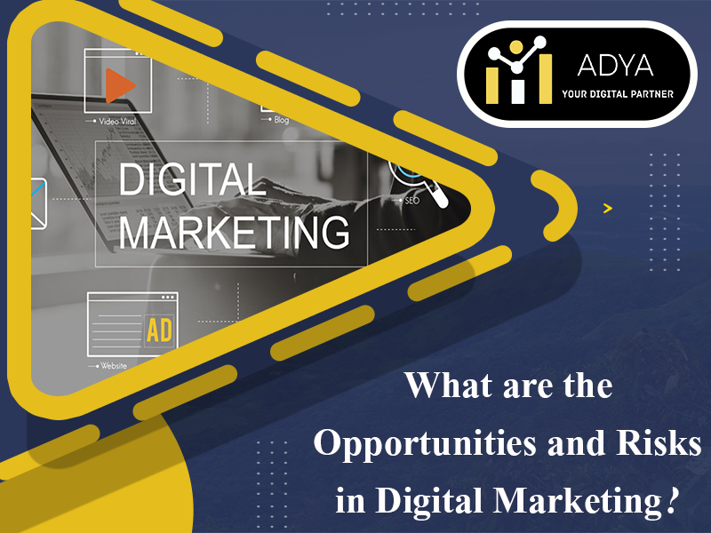 What are the opportunities and risks in digital marketing?