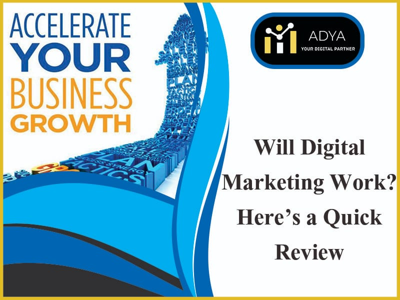 Will digital marketing really work?